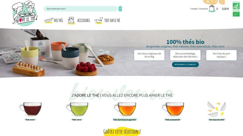 boutique thés bio